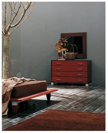 """Włoskie lustro """"Bulgaro 120"""" to idealne połączenie funkcjonalności i elegancji. Rama produktu wykonana została z drewna litego dębowego w..."""