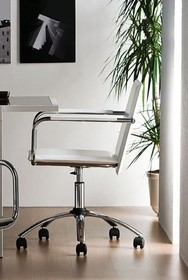 VIVO to włoski fotel biurowy, który wspaniale sprawdza się również jako element wyposażenia sal konferencyjnych. Posiada metalowy, chromowany...