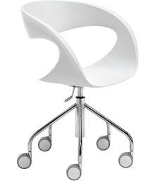 RAFF D-TS to doskonały włoski fotel biurowy na kółkach. Najbardziej charakterystyczną cechą tego mebla jest ciekawie wykonane oparcie. Może być ono...