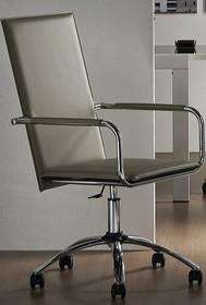 VIVO DPA- CU to doskonałej jakości włoski fotel biurowy. Jego stelaż jest metalowy i chromowany. Siedzisko i oparcie obszywane są skórą twardą....