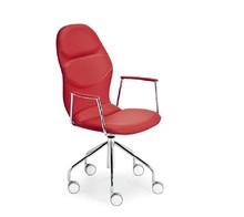 ITALIA DP A to włoski obrotowy fotel biurowy na kółkach. Posiada regulowane ustawienie oparcia oraz siedzisko, co wyjątkowo korzystnie wpływa na komfort...
