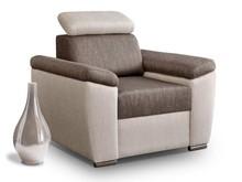 Styl w pięknym wydaniu!  Siedzisko fotela Madera bardzo wygodne, zbudowane na sprężynach i piance wysokoelastycznej HR. Model z opcją ruchomego...