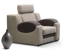 Styl i wygoda! Siedzisko fotela Aruba jest bardzo wygodne, zbudowane na sprężynach i piance wysokoelastycznej HR. Model z opcją ruchomego zagłówka....