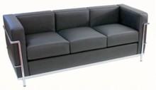 Sofa 3-osobowa LC 2 wg projektu LE CORBUSIER