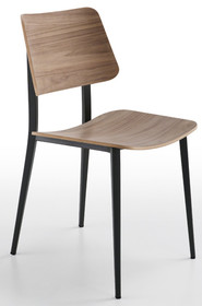 Włoskie krzesło z oparciem JOE S M LG MIDJ