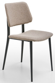 Krzesło JOE S M - TS stelaż metalowy, który może być w kolorach: białym, piaskowym, grafitowym. Siedzisko tapicerowane jest w różnych tkaninach,...