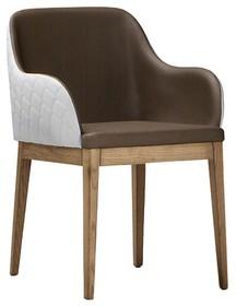 Włoskie krzesło z podłokietnikami MARILYN P-LG MIDJ