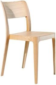 Krzesło NENE LG wykonane z wysokogatunkowego drewna wybarwianego na dąb naturalny, ciemny dąb lub orzech, niezwykle trwałe, wytrzymałe i wygodne,...