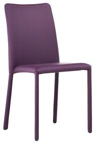 Krzesło SILVY SB TS obszyte skórą naturalną, eko skórą lub ekologicznymi tkaninami. Stelaż krzesła dostępny w chromie bądź metalowy malowany na...