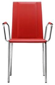 Krzesło SILVY PB TS dostępne jest w wielu bardzo ciekawych wersjach kolorystycznych. Stelaż krzesła dostępny w chromie bądź stali malowanej na biało...