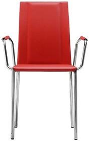 Krzesło SILVY jest meblem z górnej półki, bardzo starannie wykonanym, przez co trwałym i odpornym na wszelkie uszkodzenia. Dodatkowy komfort siedzenia...