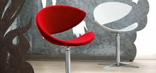 Krzesło TWIST F- TS wykonane jest ze skóry miękkiej i wysokiej jakości tkanin. Jego podstawa jest wykonana w chromie. Krzesło to jest...