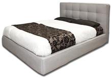 Włoskie łóżkoGIOVANNA 160/200cmz tapicerowanym wezgłowiem, wykonane zostało z wielowarstwowego drewna topolowego. Łóżko...
