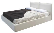Włoskie łóżkoROMINA 160/200cmz tapicerowanym wezgłowiem, wykonane zostało z wielowarstwowego drewna topolowego. Łóżko...