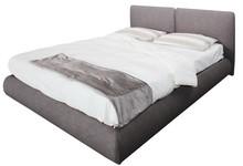 Włoskie łóżkoBARBARA 160/200cmz tapicerowanym wezgłowiem, wykonane zostało z wielowarstwowego drewna topolowego. Łóżko...