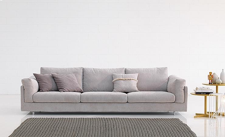 Włoska Sofa Zeno 224 Cm W Wielu Tkaninach I Kolorach