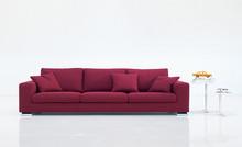 Sofa PLANO posiada oparcie wypełnione gęsim puchem oraz siedzisko piankami poliuretanowymi. Dodatkowo wzmocniono je pasami elastycznymi. Zachowuje dzięki...