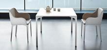 Stół nierozkładany ARMANDO to mebel w całości wykonany z metalu.. Dostępny jest on również w rozmiarach80x80, 160x90, 200x100,...