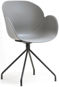 Prezentujemy krzesło SWAN ROD, czyli nowatorskie połączenie subtelnej szarości i czerni. Ten niestandardowy model posiada idealnie wyprofilowaną muszlę...
