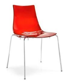 Włoskie krzesło LED posiada metalową podstawę, która jest w wersji malowanej na kolor biały, aluminium lub chromowana. Siedzisko wykonane jest z...