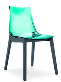 Włoskie krzesło LED posiada drewnianą podstawę, która jest wybarwiana na różne kolory. Siedzisko wykonane jest z masy plastycznej, dostępne...
