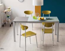 """Krzesło """"Graffiti"""" to prosta lekka i kolorowa forma, idealnie prezentuje się w nowoczesnie urządzonych kuchniach lub coffe bar. Podstawa jest..."""