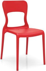 Ultra lekkie, ultra nowoczesne krzesło NEON. Wykonane z masy plastycznej - polipropylen matowy. Odporny na deszcz. Stelaż polakierowany jest specjalnym...