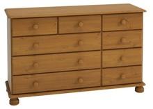 Dane szczegółowe Opis produktu Kod produktu 16034 Materiał lite drewno bejcowane/lakierowane Kolor brązowy Wymiary szerokość: 121 cm wysokość: 74 cm...