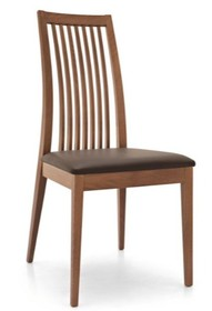 <br />Krzesło model IKEDA posiada strukturę z litego drewna bukowego. Siedzenie tapicerowane tkaniną techniczną powlekaną- wysokiej jakości...