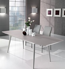 Stół Felix o wymiarze 160x90 cm, rozkładanym do 220 cm.<br />Dostępne opcje stołu, to:<br />- podstawa metalowa lakierowana na biały...