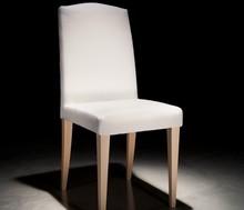 Włoskie krzesło Sally-podstawa lite drewno, siedzisko tapicerowane. Wzorniki kolorów drewna oraz tkanin do zobaczenia w galerii zdjęć.<br...