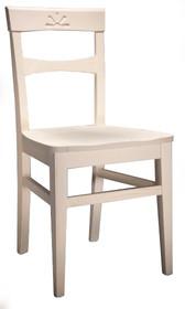 Krzesło z lietgo drewna bukowego wybarwiane na wiele kolorów. Stabilne i wzorowo wykonane. Do krzesła możesz dokupić stół.<br...