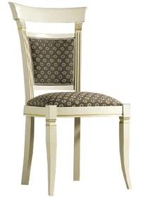 Stylizowane włoskie krzesło TREVISO DAY wykonane z jesionu i wybarwiane na kolor biały z efektem mebla postarzanego, lub wybarwiane na kolor czereśni....