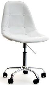 Prezentujemy unikalny fotel, który przykuwa uwagę swoją formą w kolorze bieli, który stanowić świetne uzupełnienie biura lub dowolnego pomieszczenia....