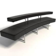 Słynny projekt sofki MONTECARLO zaprojektowany przez znaną i cenioną w świecie designu Eileen Gray. Nasza replika zostałą wykona we włoszech...