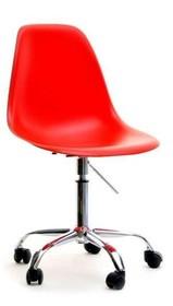 Bardzo nowoczesny fotel obrotowy w czerwonym kolorze zwróci uwagę wielu osób.  To mebel o prostej, ale i bardzo gustownej stylistyce. Wyrazista...