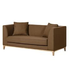Sofa nowoczesna 2-osobowa LILY - brązowy