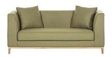 LILY nowoczesna sofa 2 os. - zielony