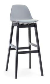 Krzesło barowe Elmo to mebel prosty, gustowny, a jednocześnie bardzo efektowny. Będzie znakomitym rozwiązaniem zarówno do nowoczesnych, designerskich,...