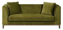 LILY nowoczesna sofa 3 os. - zielony