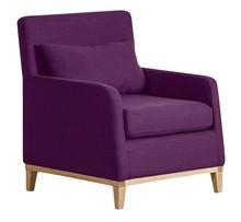 LILY nowoczesny fotel - fioletowy