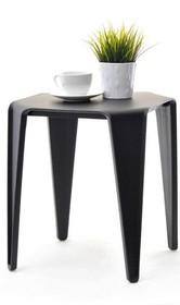 Prosty i bardzo stylowy stolik wykonany z tworzywa znajdzie zastosowanie w wielu wnętrzach.  Może być świetnym rozwiązaniem do każdego salonu oraz...