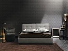 Hot ekskluzywne łożko w stylu włoskim. Z prostym podwójnym wezgłowiem ozdobnie przeszytym poziomo,pikowanym w kilku miejscach.Rama...