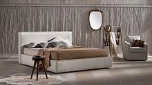 """"""" Ipanema """" ekskluzywne włoskie łóżko z pięknie wykończonymi brzegami ramy i wezgłowia.<br />MOŻLIWE KOMBINACJE I ICH..."""