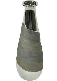 Gustowny i bardzo stylowy wazon spodoba się nawet bardzo wymagajacym osobom. Tak piękna stylistyka wniesie do każdego wnętrza wiele klasy i elegancji.