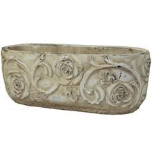Ceramiczne osłonki do kwiatów, roślin doniczkowych i ziół. Kolekcja składa się z pojemników w różnych kształtach i wymiarach. Postarzane osłonki w...