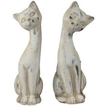 Koty to jedne z najpopularniejszych zwierząt domowych, dlatego figurki z ich podobizną idealnie wkomponują się do każdego mieszkania. Kolokacja figurek -...