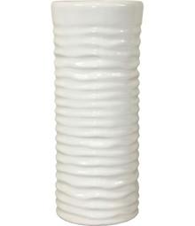 Piękne i bardzo gustowne, białe wazony wykonane z ceramiki dostępne są w wielu wariantach różniących się kształtem, rozmiarem i fakturą. Dzięki...