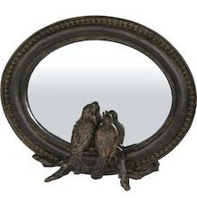 Niebanalne lustro ozdobione dwoma uroczymi ptaszkami stanie się wyjątkowym dodatkiem do każdej aranżacji. To produkt bardzo ciekawy, gustowny, który...