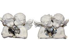 Efektowne, niewielkich rozmiarów figurki przedstawiające aniołki to przepiękne elementy dekoracyjne. Figurki doskonale wkomponują się w nowoczesny...